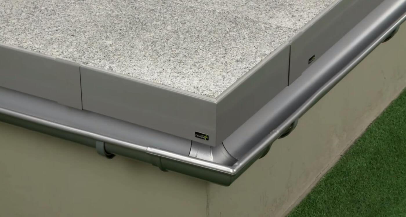 Montaż Profilu Okapowego K60 Renoplast